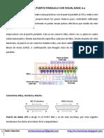 Control Del Puerto Paralelo Con Visual Basic 6.0
