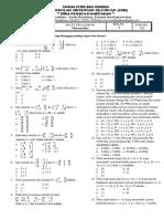 UAS Matematika Kelas X A