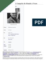 Mikhail Botvinnik Capeão Do Mundo 2 Vezes
