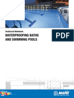 Waterproofing in Swimming Pools