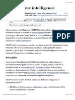 Open-source Intelligence - Wikipedia