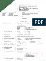 Laporan P2K3 Triwulan II 2016