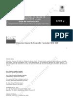 CICLO 2-4. Guía de re-nivelación español