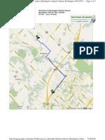 Directions From Burlington to Burlington Airpark