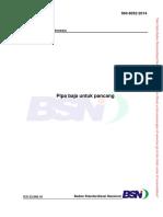 SNI 8052-2014 Pipa Baja Untuk Pancang