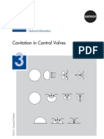 Cavitation of Valves