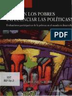 Eval Partic Pobreza EPP _pobres-Influencia-politicas
