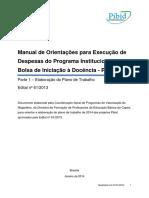 PIBID U ESP Manual Oedp Ept Atualizado