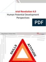 Industrial Revolution 4.0 in Human Talent Development