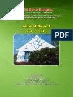 Inba Seva Sangam Annual Report-2015-16