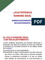 CLASE N° 8 - RANKINE SOBRECALENTAMIENTO - RECALENTAMIENTO