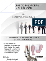 Orthopaedic Disorders 2
