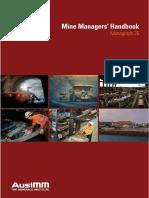Mine Managers' Handbook