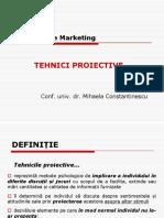 Cerc (ID) - Curs 10 (Tehnici Proiective)