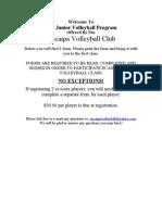 Fall Registration Form
