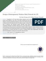 5 Design of Heterogeneous Wireless