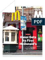 Hanoi Gets Its First McDonald's - But Are Hanoians Lovin' It
