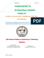 Thermal Power Plant Training File