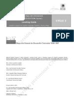 CICLO 3-4. Guía de re-nivelación inglés