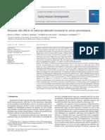 Neonatal Side Effects of Maternal Labetalol Treatment in Severe Preeclampsi