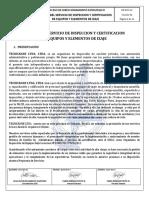 De-doc-12 Reglas Del Servicio- Reglas Del Servicio de Inspeccion y Certificacion