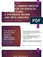 Critical Review - Laminar Airflow Systematic Review