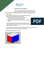 Standard Guidelines Palletizing