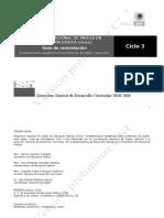 CICLO 3-4. Guía de re-nivelación español