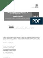 CICLO 3-3. Guía de trabajo español