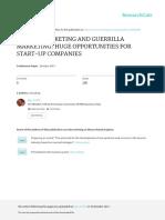 DigitalandGuerrillamarketingforstart Upcompanies FIN