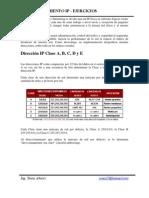 Direccionamiento - Ejercicios - Explicacion - Clases A-B-C