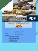 Visita a Bocatoma La Achirana Informe en Power Point