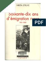 70 Jahre Emigration