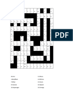 Solution for Crossword of E-Newsletter 'Homoeopathic Pulse' Vol. XII