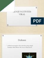 2. Konjungtivitis Viral