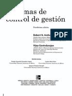Anthony y Govindarajan Sistemas de Control de Gestion Cap 2 Ed 12