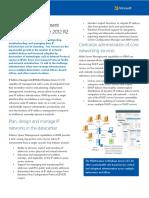 IP Address Management in Windows Server 2012 R2 White Paper