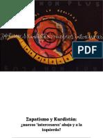 Moi Non Plus - Zapatismo y Kurdistán. ¿Nuevos 'intercesores' abajo y a la izquierda? (2015)