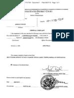 Criminal complaint against Jerrold Fowler
