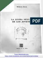 Reich W - La lucha sexual de los jóvenes.pdf