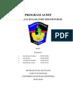 Tugas Audit Sektor Publik