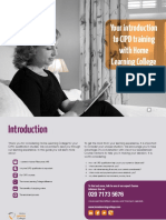CIPD training with Home Learning College