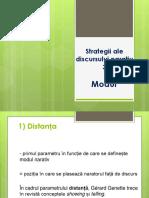 Strategii Ale Discursului Narativ. Modul