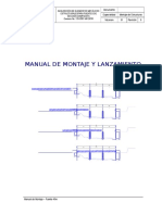 Manual de montaje y lanzamiento