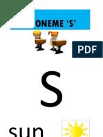 Phoneme S