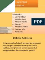 Interaksi Obat Antivirus