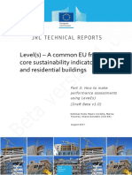 170816 Levels EU Framework of Building Indicators