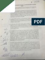 Acuerdo firmado por el sector  médico y el Gobierno