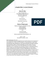 Bliss and Panigirtzoglou (2002).pdf