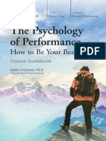 1699 Psychology of Performance